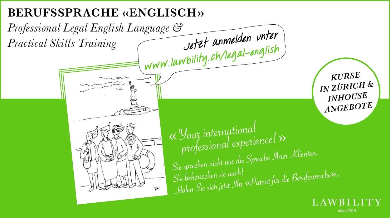 Lawbility Professional Legal English Language Exam Certificate